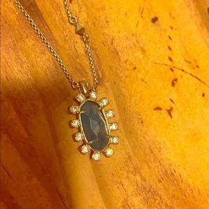 Kendra Scott Jewelry - Kendra Scott silver and green stone necklace